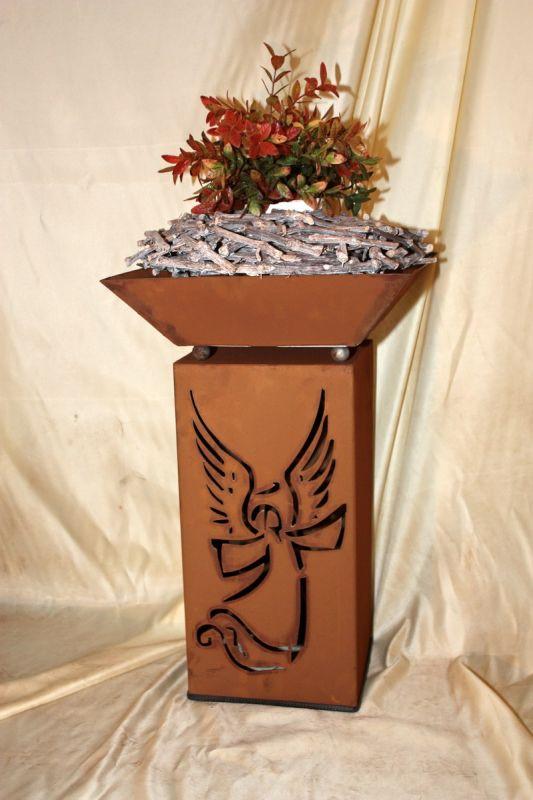 Rs38 s03 rost s ule schale engel jabo design for Rost schale dekorieren
