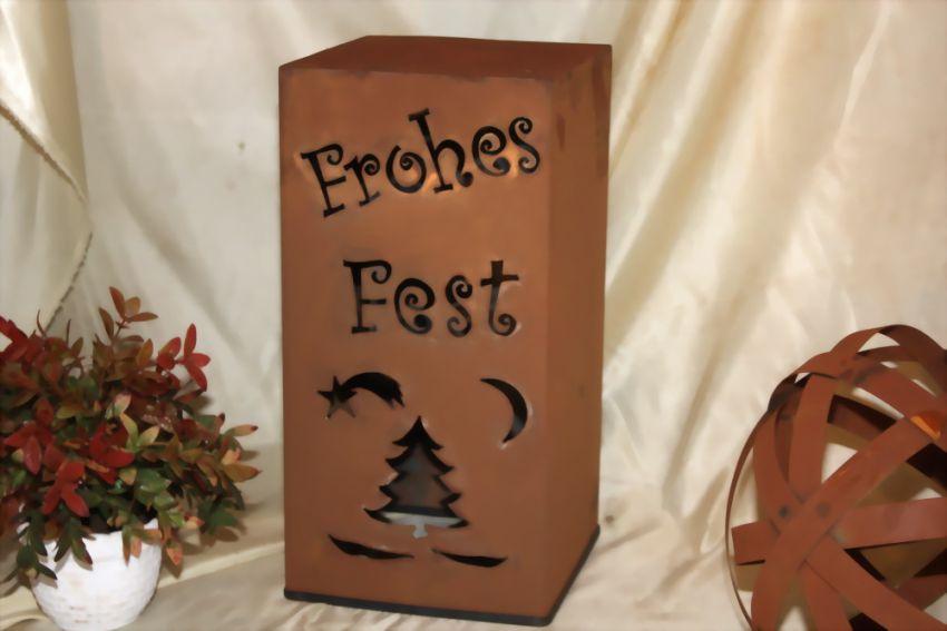 rs51 frohes fest weihnachten edelrost s ule jabo design. Black Bedroom Furniture Sets. Home Design Ideas